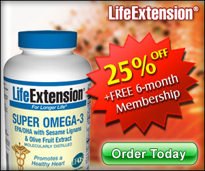 Super Omega 3 EPA/DHA - Life Extension