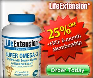 Omega 3 Fish Oil - 25% OFF