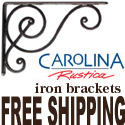 Carolina Rustica offers top quality lighting with FREE SHIPPING.