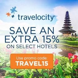 Travelocity.com: 15% off Participating Hotel Stays!