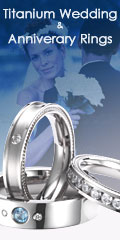 Titanium Wedding & Anniversary Rings by JustMetal