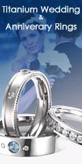 Titanium Wedding & Anniversary Rings by JustMetal
