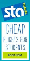 Book Cheap Flights at  STA Travel
