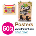 Save up to 60% on posters from PsPrint!