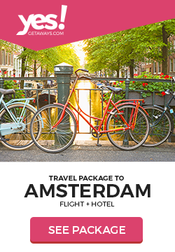 Image for Yes!Getaways | Amsterdam | Banner 250 x 360 | Evergreen