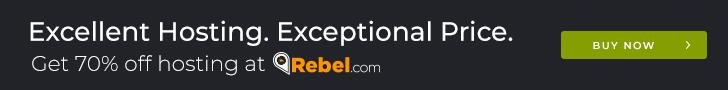 Excellent Hosting, Exceptional Price. Rebel.com.