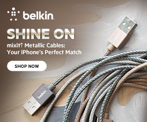 MIXIT Metallic Lightning Cables by Belkin