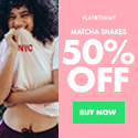 Flat Tummy Matcha Shakes - 50% Off