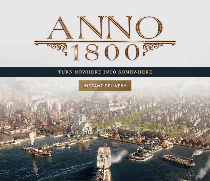 Check out all of Anno 1800 deals