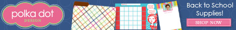 Back to School Supplies by Polka Dot Design