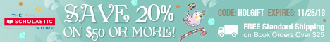 20% Off Fantastic Holiday Gifts at The Scholastic Store