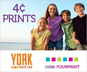 York Photo - 4¢ Photo Prints - Unlimited Quantity!
