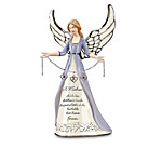 Porcelain Birthstone Angel Figurine For Mothers