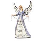 Porcelain Birthstone Angel Figurine For Mothers