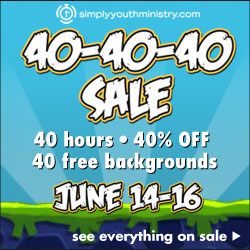 Simply Youth Ministry 40-40-40 Sale
