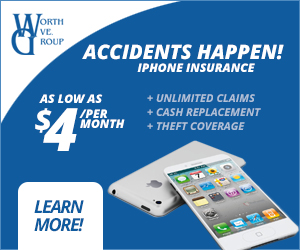 Get your iPhone insurance today!