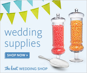 The Knot Wedding Shop Favors sale. 20% off ALL orders