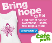 Fight Breast Cancer with CafePress Merchandise