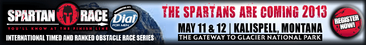The Spartans are Coming to Kalispell, Montana - The Gateway to Glacier National Park! May 11 & 12, 2