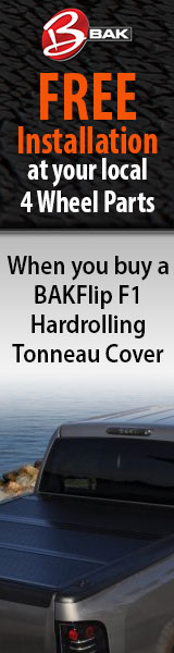Get your BAKFlip Tonneau Cover installed for free when you buy online and pick up in store.