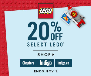 20% off select LEGO (ends Nov 1)
