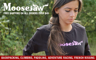 Moosejaw Free Shipping on Outdoor Gear