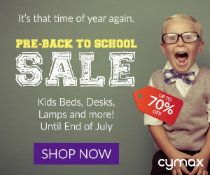 Shop up to 70% off for your Back to School Furniture Needs