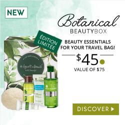Botanical beauty box yves rocher