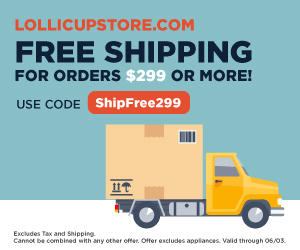Free Shipping 299 on LollicupStore.com