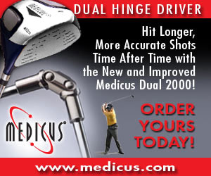 The Best Selling Golf Training Aid Ever, The Medicus Driver