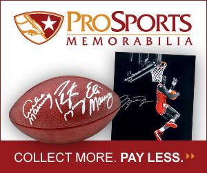 Shop Sports Collectibles and Memorabilia