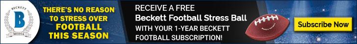 Beckett Football Freebie Promotion
