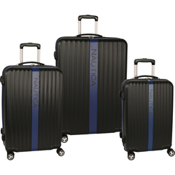Nautica Surfers Paradise 3 Piece Hardside Spinner Luggage Set Now Only $227.47 Org. $1,080.00 Plus Free Shipping Use Promo Code NTSP at checkout.