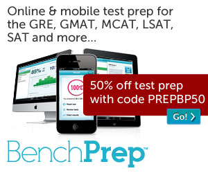 50% off Test Prep Courses 300x250
