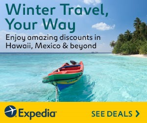 Expedia Winter Sale: Winter Travel, Your Way