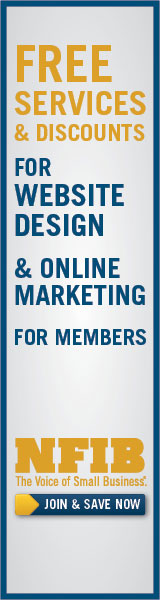 NFIB gives discounts on web services and design