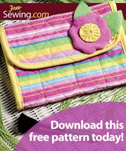 Free Sewing Clutch Pattern