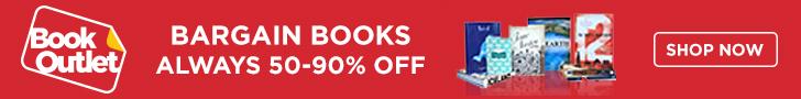 Bargain Books. Always 50-90% Off