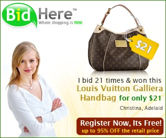 BidHere for all your luxuries bags!