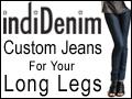 Custom Jeans for your long legs