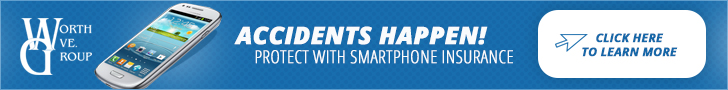 Smart phone insurance.  Get yours today!