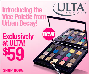 Introducing the Vice Palette from Urban Decay! Exclusively at Ulta for $59