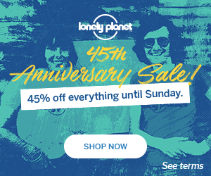 Lonely Planet 30% off Sale