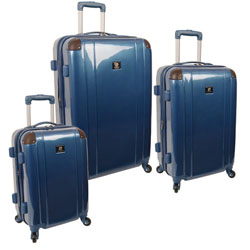 -Anne Klein Phoenix Hardside -  3 Piece Spinner Luggage Set