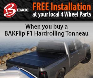 Get your BAKFlip Tonneau Cover