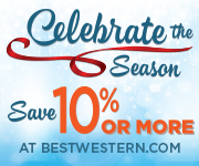 Save 10% or more when you book at bestwestern.com.