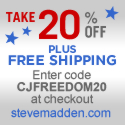 Get 20% Off at Steve Madden's Father's Day Sale!
