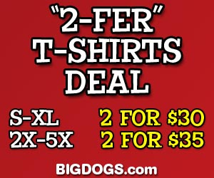 Funny Big Dog Tees for People!