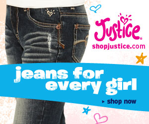 Justice: 300x250: Jeans for Every Girl