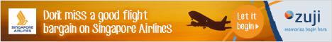 Singapore Airlines Cheap Airfares